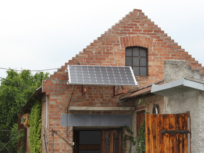 Photo of photovoltaic system
